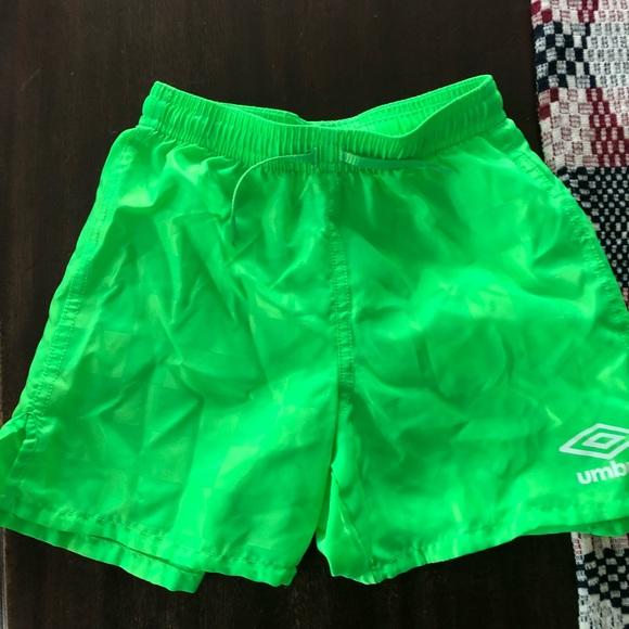 5-6 Umbro Soccer Shorts Black Size XXS